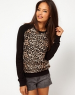 Similar leopard sweater from ASOS at Asos