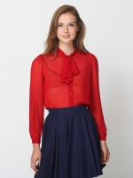Similar red blouse from American Apparel at American Apparel