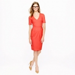 Similar red dress from J Crew at J. Crew
