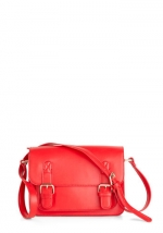 Small red messenger bag like Robins at Modcloth