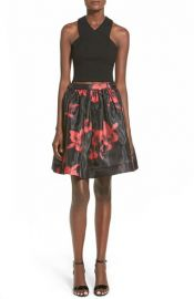 Soloisteand160Floral Print Two-Piece Dress at Nordstrom
