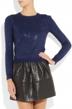 Sparkly sweater by Alice and Olivia at Net A Porter