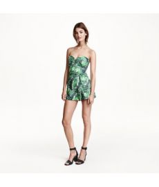 Strapless Jumpsuit at H&M