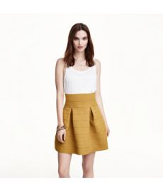 Textured Skirt at H&M
