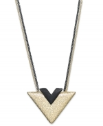 Triangle necklace at Macys at Macys