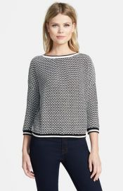 Trouvand233 Mix Tweed Sweater at Nordstrom