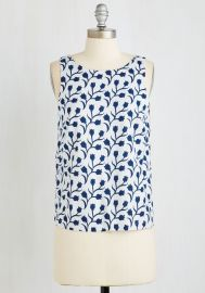 Tulips Company Top at ModCloth