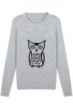 Very similar owl sweater at Romwe at Romwe