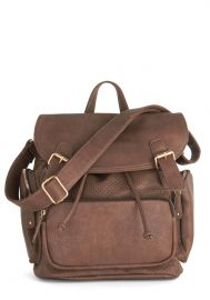 Visualize Victory Backpack in Brown at ModCloth