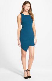 Whyte Eyelash and39Envelopeand39 Racerback Body-Con Dress at Nordstrom