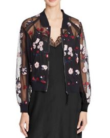 Lucy Paris Embroidered Bomber Jacket at Bloomingdales
