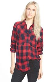 Button Front Plaid Shirt by Ace Delivery at Nordstrom