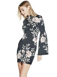 Luba Dress Blushing Rose at Guess
