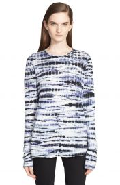 Tie Dye Tissue Jersey Long Sleeve Tee by Proenza Schouler at Nordstrom