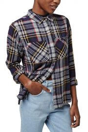039 Charlie  039  Plaid Button Front Shirt at Nordstrom Rack
