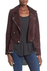 039 Morning  039  Suede Moto Jacket at Nordstrom Rack
