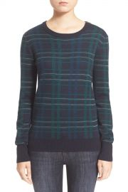 039 Ondine  039  Plaid Wool Pullover at Nordstrom Rack