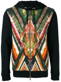 1 275 Balmain Folkloric Print Hoodie - Buy Online - Fast Delivery  Price  Photo at Farfetch