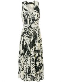 1 650 Proenza Schouler Printed Midi Dress - Buy Online - Fast Delivery  Price  Photo at Farfetch