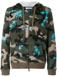 1 650 Valentino Camo Hoodie - Buy Online - Fast Delivery  Price  Photo at Farfetch