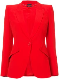 1 995 Alexander McQueen Single Breasted Blazer - Buy Online - Fast Delivery  Price  Photo at Farfetch