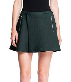 1 State Green Skirt at Dillards