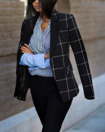 1 State Windowpane Jacket at Nordstrom