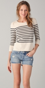 Juicy Couture striped top at Shopbop