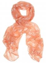 Coral bird print skinny scarf at Dorothy Perkins