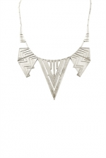 House of Harlow Chevron Five Station Necklace at Boutique To You