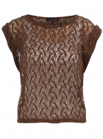 Similar style top in brown at Dorothy Perkins
