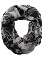 Grey and white patterned snood at Dorothy Perkins