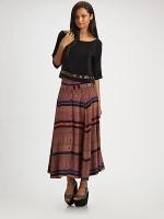 Vena Cava Silk PJ Skirt at Saks Fifth Avenue