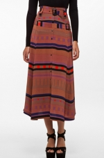 Vena Cava Silk PJ Skirt at Forward by Elyse Walker