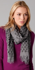 Marc Jacobs scarf at Shopbop