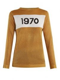 1970 intarsia-knit sweater at Matches
