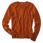 Orange cardigan like Annie's at Target