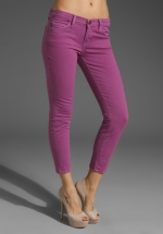 Purple skinny jeans at Revolve