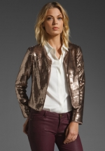 Sequined jacket like on Hart of Dixie at Revolve