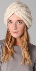 Cream knit turban like Lemons at Shopbop