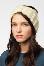 Fuzzy ear warmer like Lemons at Urban Outfitters