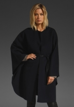 Wool cape by Vince at Revolve