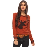 Annie's deer sweater at Forever 21