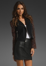 Elizabeth and James New Rory Jacket at Revolve