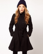 Black coat like Bernadettes at Asos