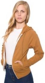 Tan hoodie like Janes at American Apparel