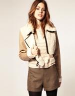 Sherling jacket like Alex's at Asos