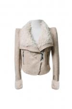 Shearling jacket like Alexs at Romwe