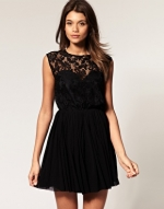 Black lace dress like Zoes at Asos