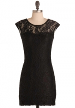 Black lace dress like Zoes at Modcloth